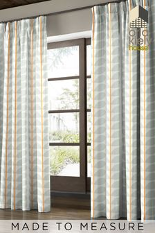 Two Colour Stem Made To Measure Curtains by Orla Kiely