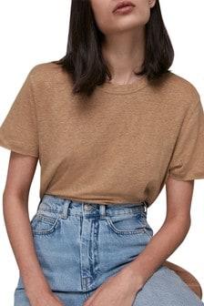 Whistles Linen T-Shirt
