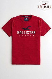 Hollister Red Logo T-Shirt