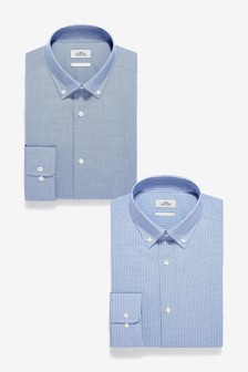 Check Shirts Two Pack
