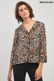 Whistles Leopard Shirt