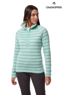 Craghoppers Green Alphia Half Zip Fleece