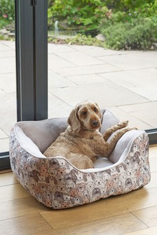 Dog Printed Pet Bed