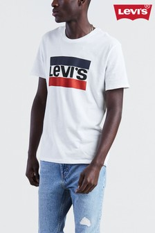 Levi's® White Sports Logo Graphic Tee