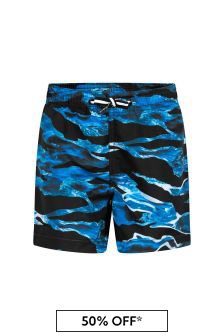 Molo Boys Blue Swim Shorts