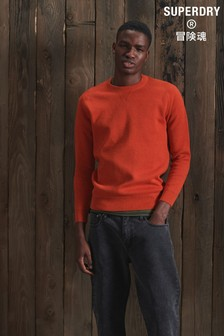 Superdry Essential Cotton Crew Jumper