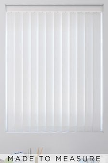 Wave Texture Winter Grey Made To Measure Vertical Blind