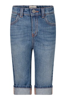 GUCCI Kids Baby Navy Blue Denim Jeans