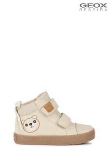 Geox Girl's Kilwi Cream Shoes