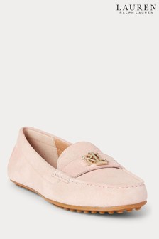 Lauren Ralph Lauren® Soft Leather Logo Barnsbury Loafers