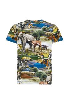 Boys Multicoloured Cotton T-Shirt