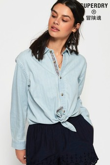 5f85d59c1 Womens Denim Shirts | Ladies Chambray Shirts | Next UK