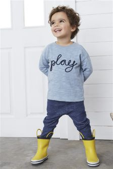 Play Crew And Joggers Set (3mths-6yrs)