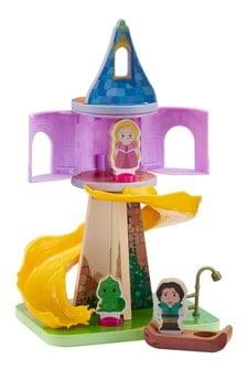 Disney™ Princess Woodn Repunzels Tower Figure Playset
