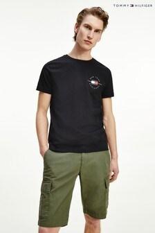 Tommy Hilfiger Black Circle Badge T-Shirt