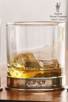 English Pewter Company 11oz Whisky Tumbler