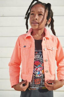 Cropped Denim Western Jacket (3-16yrs)