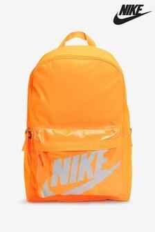 Nike Orange Heritage 2.0 Backpack