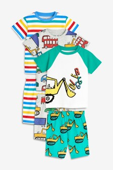 Transport Pyjamas Three Pack (9mths-8yrs)