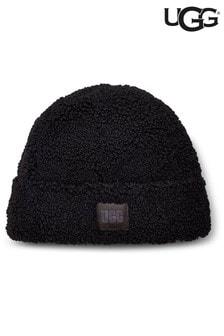 UGG® Black Sherpa Beanie