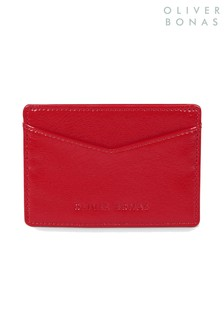 Oliver Bonas Red Lyla Card Holder