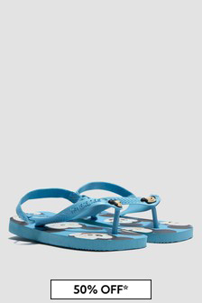 Havaianas Baby Boys Blue Mickey Mouse Flip Flops