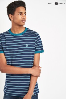 Pretty Green Martell Striped T-Shirt