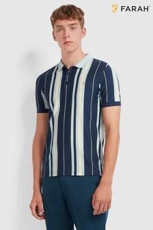 Farah Wigwam Striped Poloshirt