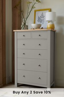 Malvern 6 Drawer Multi Chest