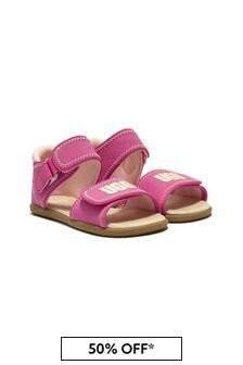 UGG Girls Pink Delta Sandals