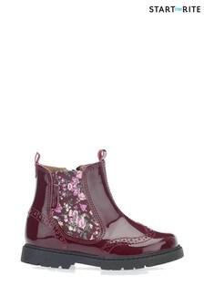 حذاء أحمر قابلللتمددمن الجانبين منStart-Rite