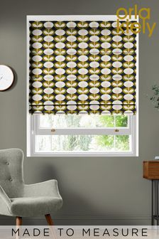 Oval Flower Made To Measure Roman Blind by Orla Kiely