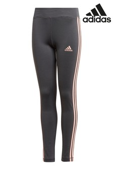 adidas Performance 3 Stripe Training Leggings