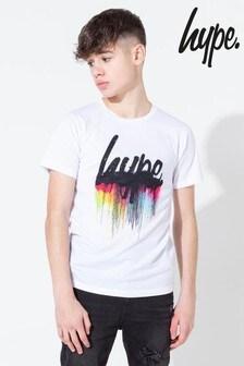 Hype. Multi Script Drips Kids T-Shirt