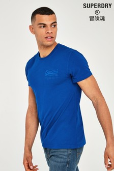 Superdry Blue Tonal Injection T-Shirt