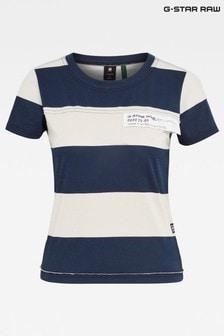 G-Star Slim Fit Wide Stripe T-Shirt