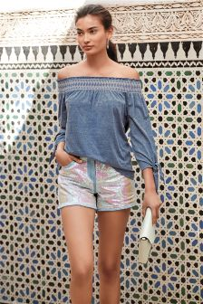 Sequin Shorts
