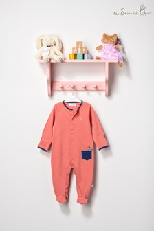 The Essential One Unisex Baby Apricot Sleepsuit
