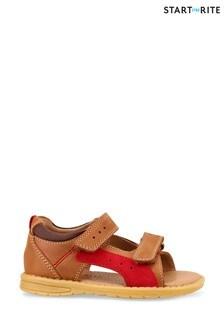 Start-Rite Breeze Tan Leather Sandals