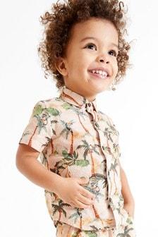 Short Sleeve Print Shirt (3mths-7yrs)