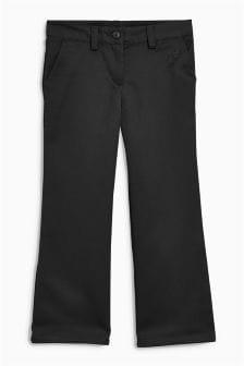 Тканые расклешенные брюки (3-16 лет)