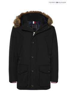 Tommy Hilfiger Black Hampton Down Parka