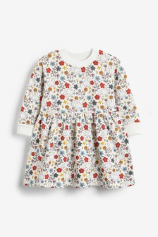 Miffy Printed Long Sleeve Sweat Dress (3mths-7yrs)