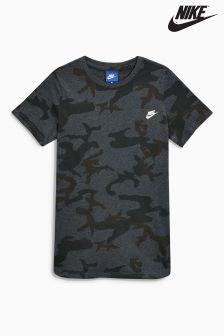 Nike Camo All Over Print T-Shirt