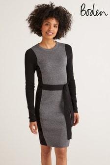 Boden Black Rosa Dress