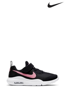 Nike Black/Pink Oketo Junior Trainers