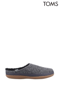 Toms Black Ivy Slippers
