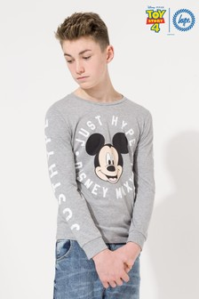 Hype. Disney™ Mickey Circle Kids L/S T-Shirt