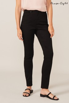 Phase Eight Black Aida Stay High Waisted Jeans