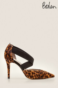 Boden Brown Arabella Heels